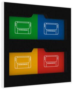 Super Famicom / Super Nintendo Precision Game Storage