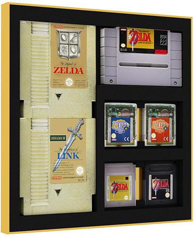 ZELDA Signature Precision Game Storage